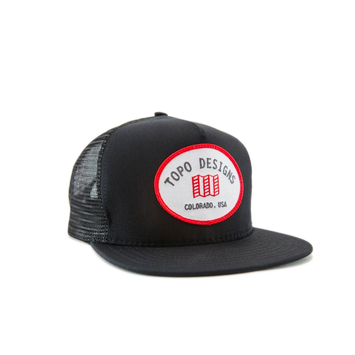 Topo Designs Snapback Hat Black