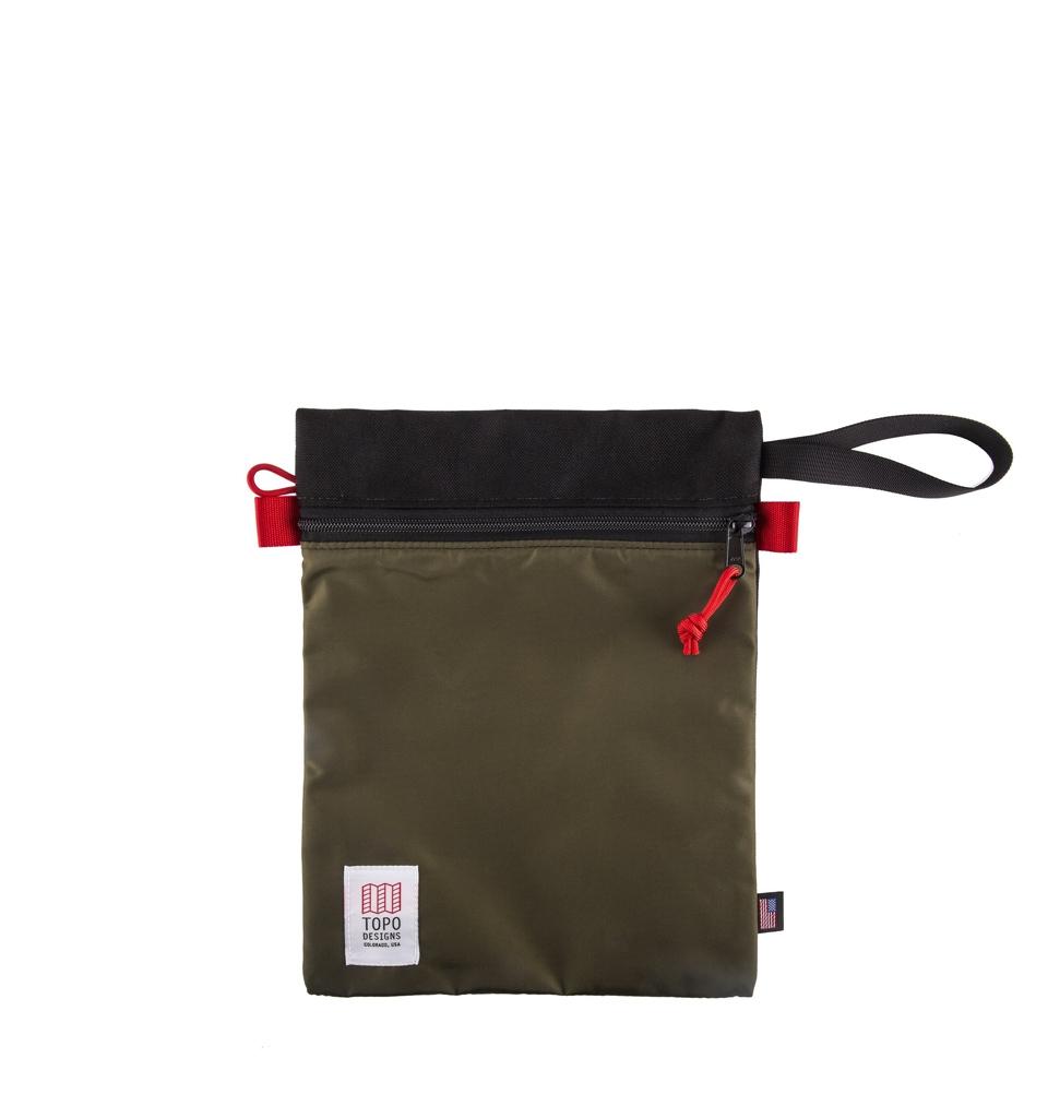Topo Designs Utility Bag Zwart/Olijf