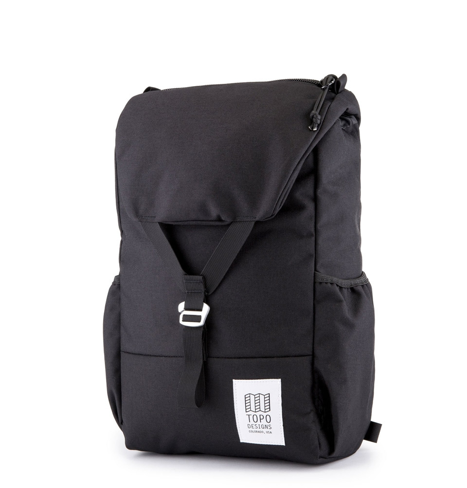 Topo Designs Y-Pack Backpack Zwart