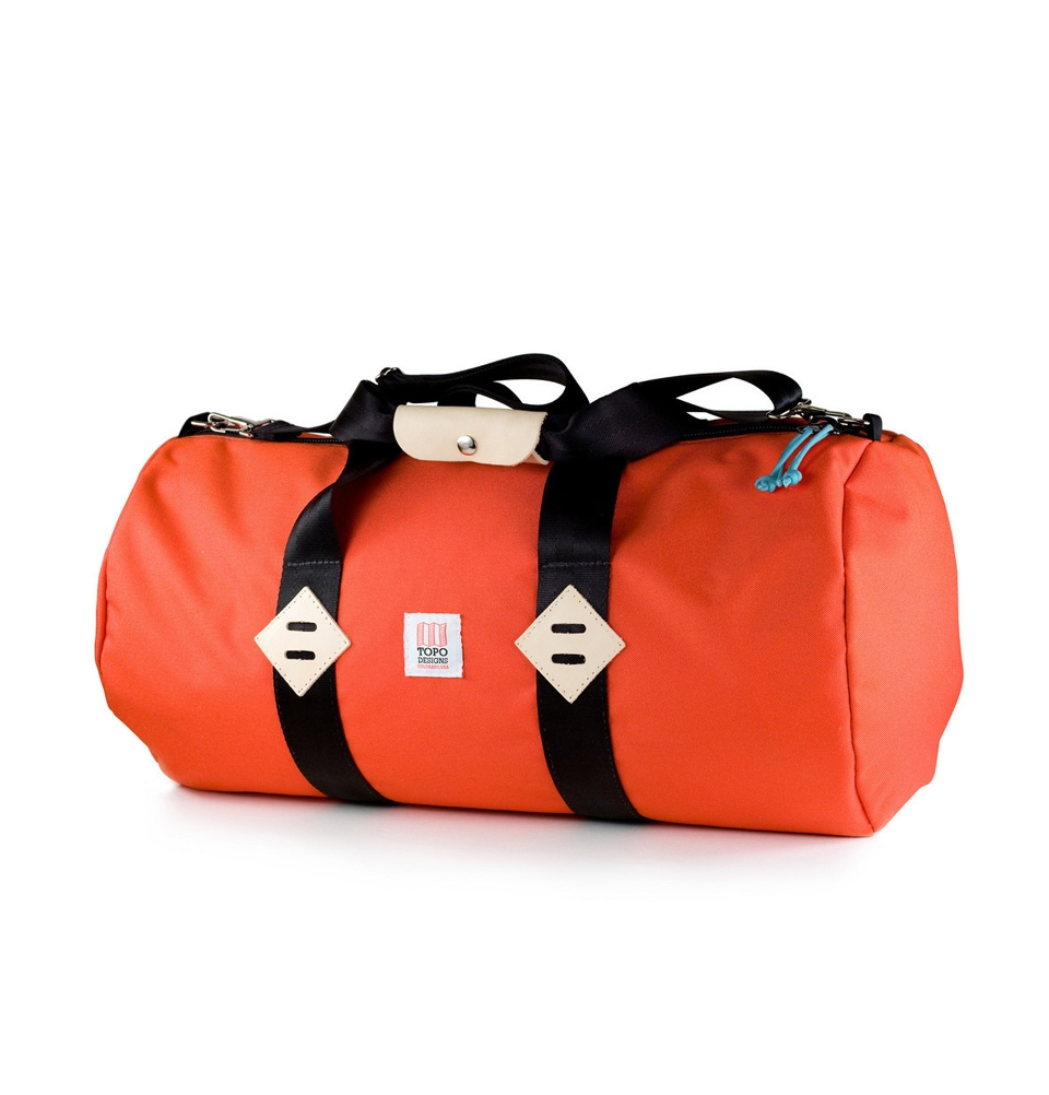 "Topo Designs Duffel 24"" Orange"