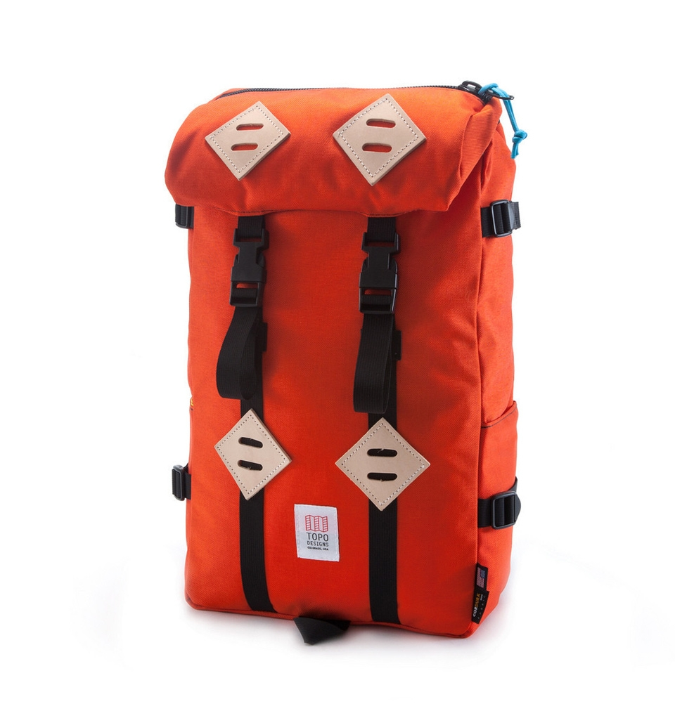 Topo Designs Klettersack Orange