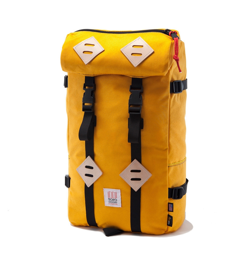 Topo Designs Klettersack Saffron