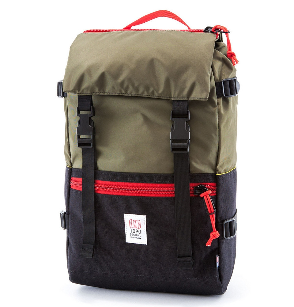 Topo Designs Rover Pack Black/Olive