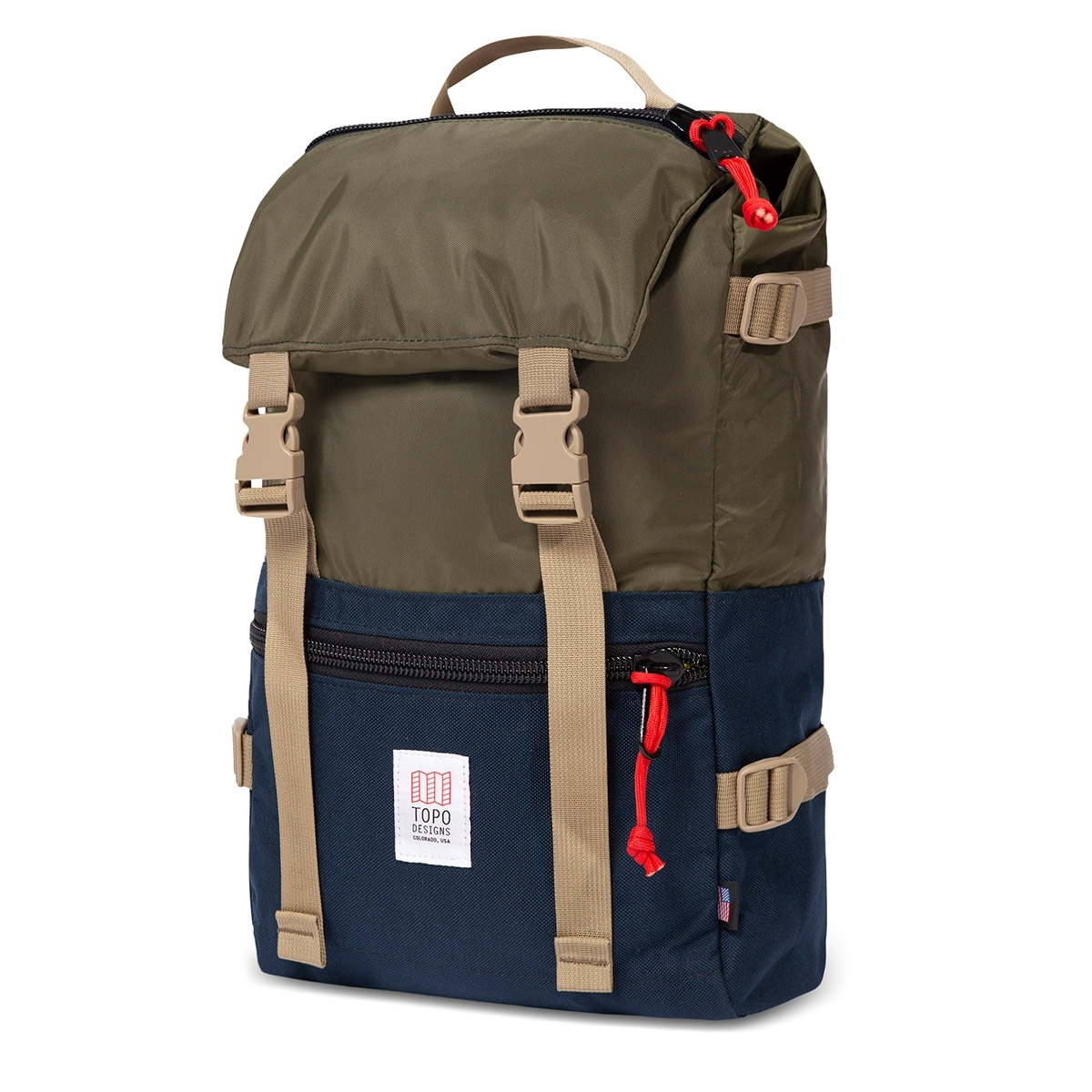Topo Designs Rover Pack Olive/Navy