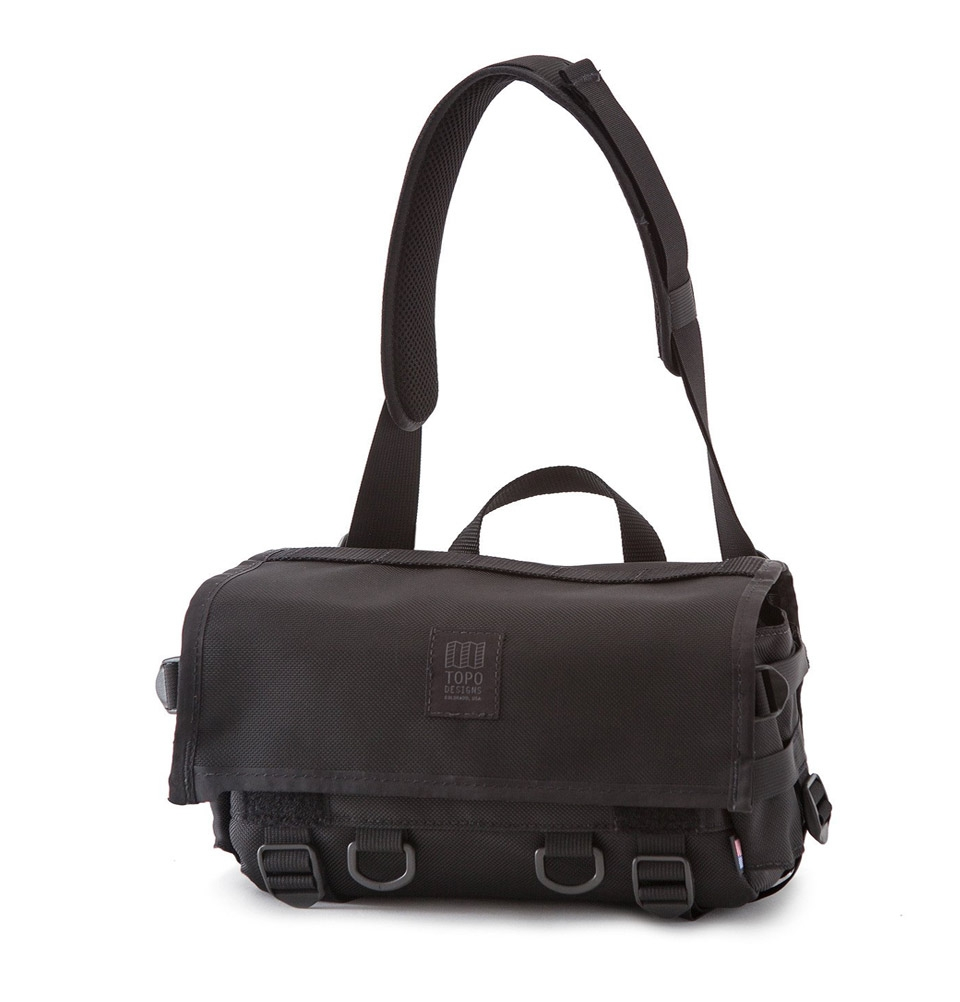 Topo Designs Field Bag Ballistic Black