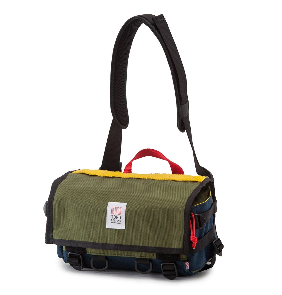 Topo Designs Field Bag Olive/Navy