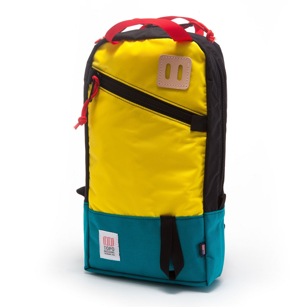 Topo Designs Trip Pack Teal/Yellow/Black