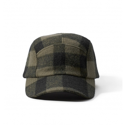 Filson 5-Panel Cap 11030236 Otter Green/Black Plaid