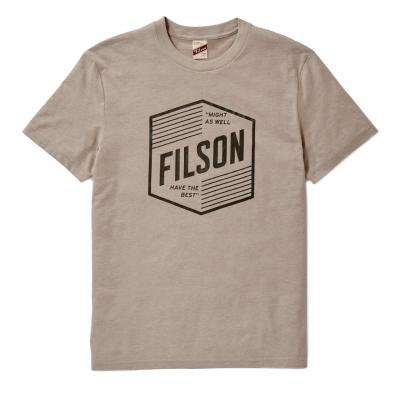 Filson Buckshot T-shirt Sand Stone