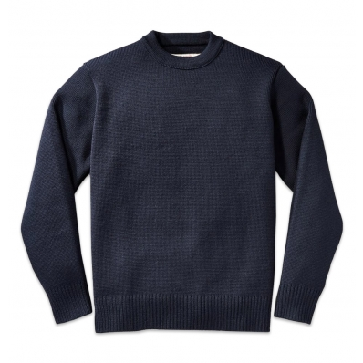 Filson Crew-Neck Guide Sweater 11010691 Navy