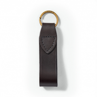 Filson Leather Key Chain 20002853-Brown