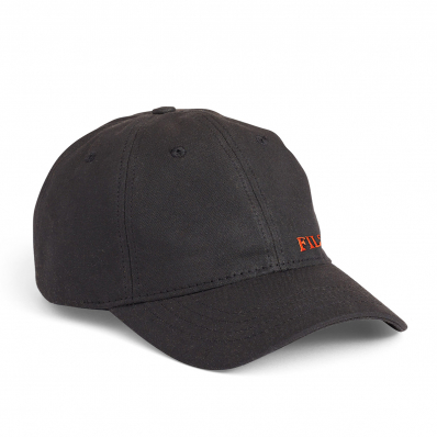 Filson Oil Tin Low-Profile Cap 20172158 Black