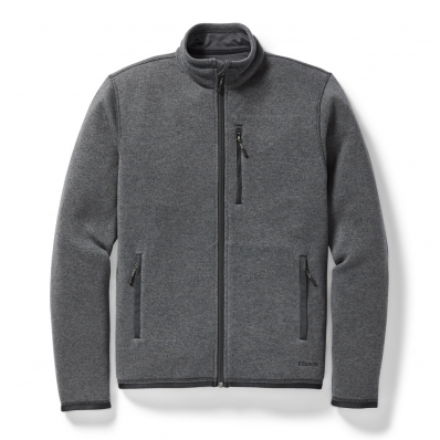 Filson Ridgeway Fleece Jacket Charcoal Heather