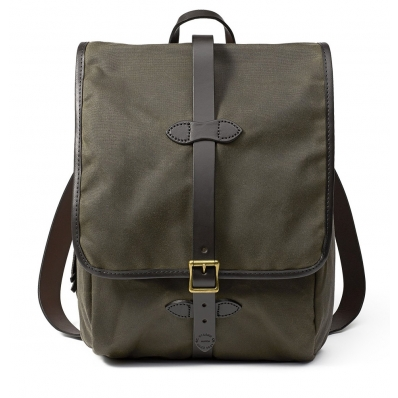 Filson Tin Cloth Backpack 11070017 Otter Green