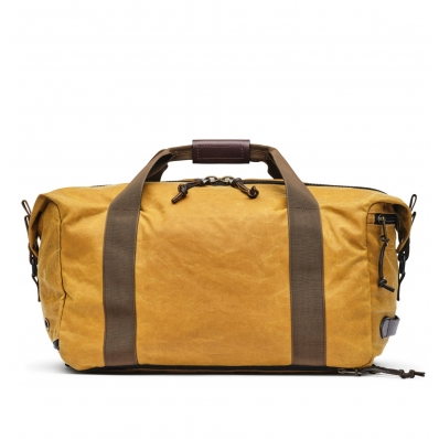 Filson Tin Cloth Duffle Pack DarkTan back
