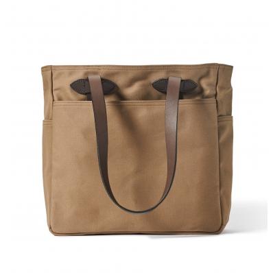Filson Rugged Twill Tote Bag 20112029-Sepia
