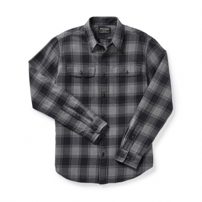 Filson Scout Shirt 20049628-Gray/Black