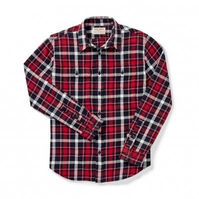 Filson Scout Shirt 20049628-Red/Black/White