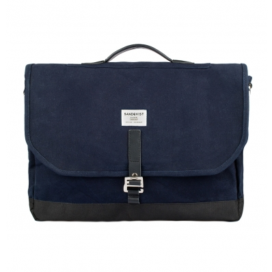 Sandqvist Briefcase Laptop Bag Blue