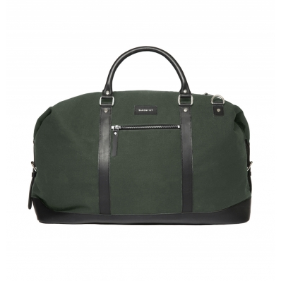 Sandqvist Jordan Black weekend bag duffle