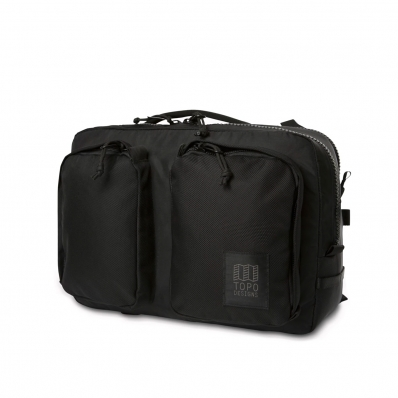 Topo Designs Global Briefcase Ballistic Black