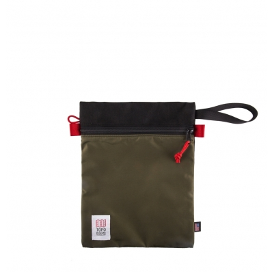 Topo Designs Utility Bag Black - Olive