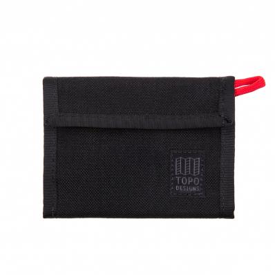 Topo Designs Velcro Wallet Black
