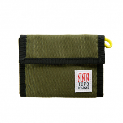 Topo Designs Velcro Wallet Olive