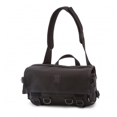Topo Field Bag Ballistic Black