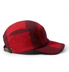Filson 5-Panel Cap 11030236 Red/Black Plaid