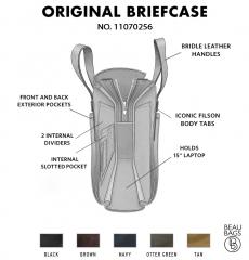 Filson Original Briefcase 11070256 Brown