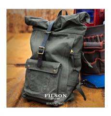 Filson Roll-Top Backpack 11070388 Otter Green