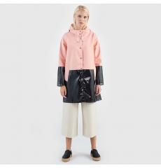 Stutterheim Mosebacke Half Pale Pink Raincoat
