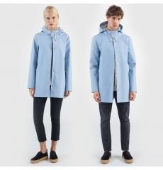 Stutterheim Stockholm Raincoat Blue Fog