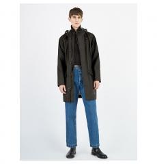 Stutterheim Raincoat Regenjas Regenjacke Ekeby Black