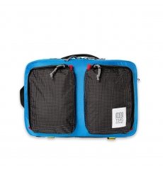 Topo Designs Global Briefcase Blue/Black Ripstop