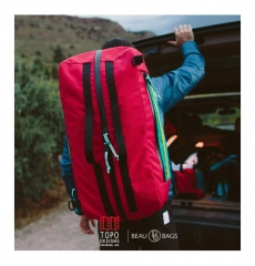 Topo Designs Mountain Duffel Red (60L)