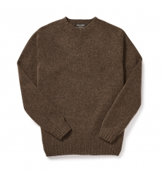 Filson 4gg Crewneck Sweater 20067988 DarkWalnut