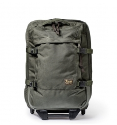 Filson Ballistic Nylon Dryden 2-Wheel Rolling Carry-On Bag 20047728-Otter Green