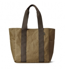 Filson Grab 'N' Go Tote-Medium 11070390-DarkTan/Brown front
