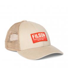 Filson Mesh Snap-Back Logger Cap 20204520-Khaki front
