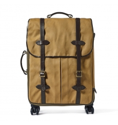 Filson Rugged Twill Rolling 4-Wheel Check-In Bag 20069584-Tan