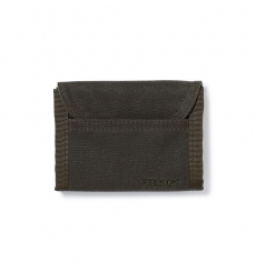 Filson Tin Cloth Smokejumper Wallet Otter Green