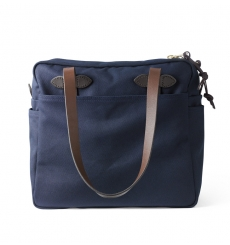 Filson Tote Bag With Zipper 11070261 Navy