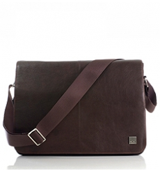 "Knomo Bungo Expandable Messenger 15.6"" brown"