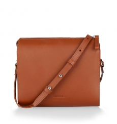 Sandqvist Frances Shoulder Bag Cognac Brown