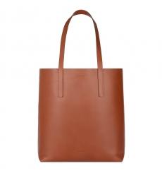 Sandqvist Helga Tote Bag Cognac Brown