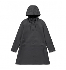 Stutterheim Raincoat Mosebacke black