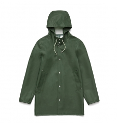 Stutterheim Stockholm Raincoat Amazon Green