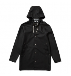 Stutterheim Stockholm Raincoat Black